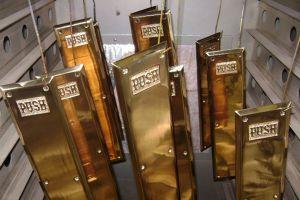 Polished Bronze Push Plates