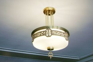 Refinished Lamp Fixture