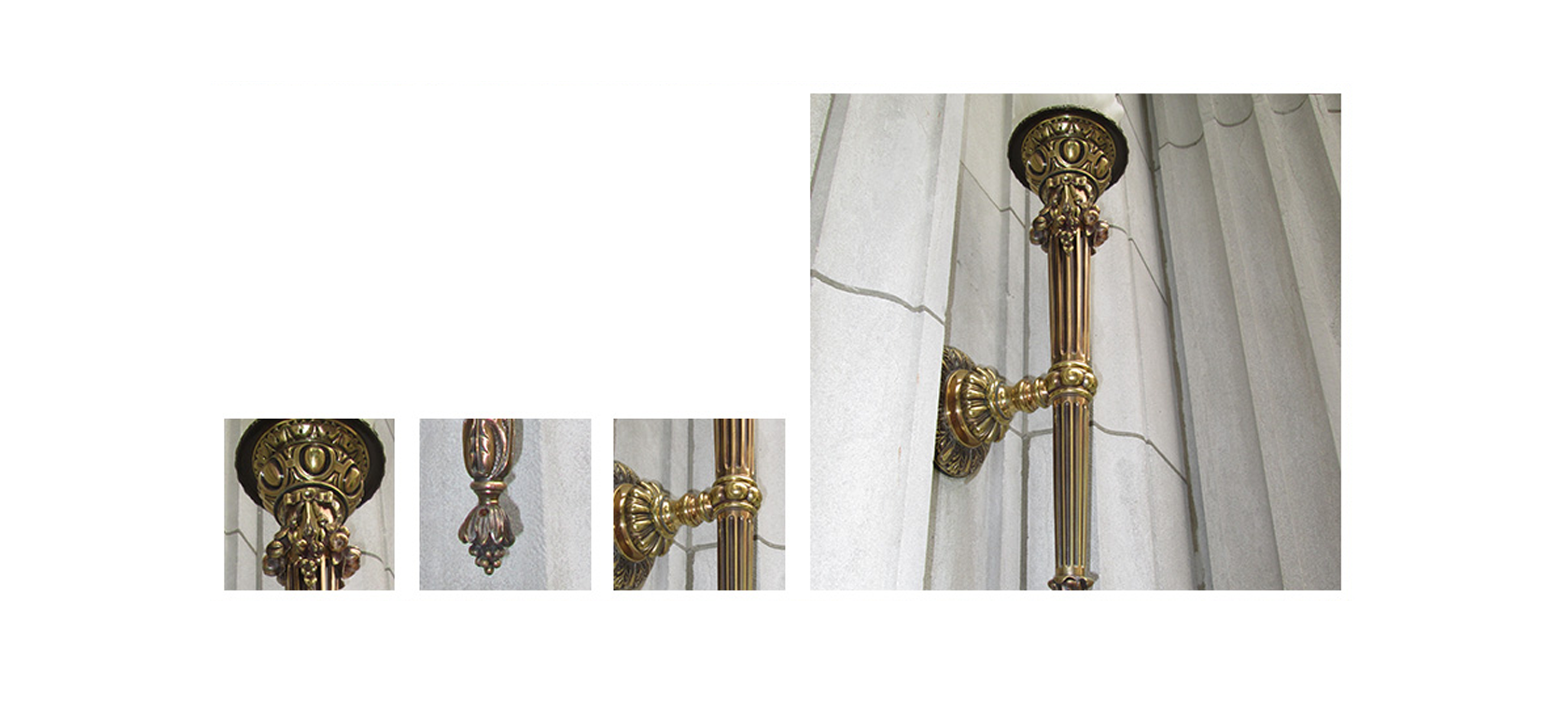 Polished Antique Brass